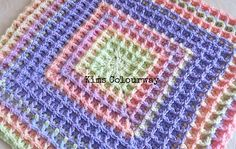 Ravelry: Squared Waffle pattern by Buttonnose Crochet