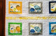 lovebirds quilt
