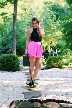 Pink and Girly Summer Date Night Outfit - Sophie Says