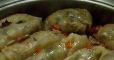 Ανοιξιάτικοι πολύχρωμοι νηστίσιμοι λαχανοντολμάδες !!! Υλικά : 1 λάχανο μεγάλο που του χωρίζουμε τα φύλλα ως συνήθως. Για την γέμιση :... Greek Pastries, Eat Greek, Cheesecake Bars, Greek Recipes, No Cook Meals, Sausage, Recipies, Pork, Food And Drink