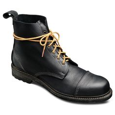 Normandy - Lace-up Derby Boot by Allen Edmonds