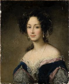 Portrait of Duchess Zinaida Yusupoff Christina Robertson (Scottish, Oil on canvas. The State Hermitage Museum. After an exhibition in St. Petersburg in Robertson was hired as. Female Portrait, Portrait Art, Portrait Paintings, Moritz Von Schwind, Hermitage Museum, Russian Art, Art History, Dame, Beauty