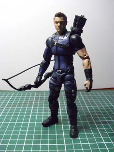 Hawkeye Civil War (Marvel Legends) Custom Action Figure