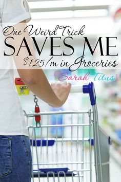 I don't coupon a whole lot, so when it comes to spending money on groceries, they are a lot. Here's a trick I've learned over the years to make my budget go further. It's so simple, anyone can do it! grocery budgets