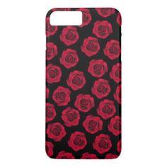 Red Rose Designer iPhone 7 plus iPhone 7 Plus Case