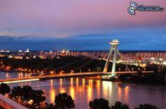 Nový Most, sur le Danube, Bratislava, Slovaquie