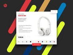 Beats Product Card