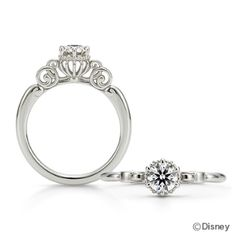 fortunate pumpkin carriage - Cinderella Wedding Ring