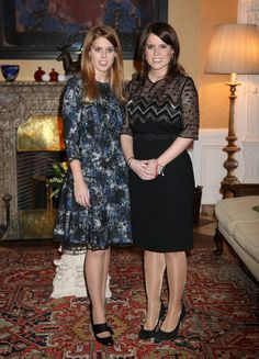 Princess Eugenie and Princess Beatrice are currently in Berlin to support the government's GREAT initiative promoting the UK abroad. They will visit Hanover tomorrow as part of this two day trip funded by their father the Duke of York.