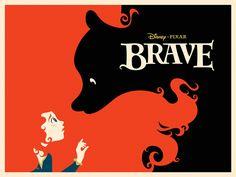 Brave Poster - Michael Depippo