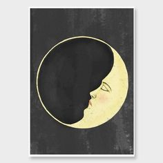 Moon Art Print by Nathan Miller NZ Art Prints, Art Framing Design Prints, Posters & NZ Design Gifts | endemicworld