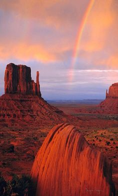 Rainbow en Monument Valley - Utah