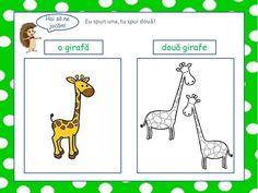 Numărul substantivelor - Logorici Peanuts Comics, Giraffe Illustration