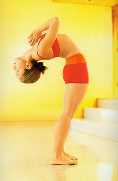 Kino MacGregor {queen of ashtanga}.   She is the youngest female to ever be trained by Sri K. Pattabhi Jois, the founder of Ashtanga Yoga.