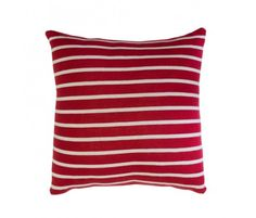 Red Stripe Toss Pillow by Darzzi >> Wonderful for my couch!