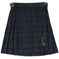 New Girls Pleated Black Watch Tartan/Plaid Scottish Kilt Skirt Ages 2 - 14 #Tartanista #Skirt