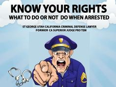 st-george-utah-criminal-defense-dui-lawyer-attorney-what-to-do-and-not-do-when-arrested-tip-2-24891634 by Law Offices of David Laurence Altman via Slideshare