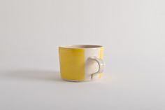 Wonki Ware Squat Mug Yellow@JaneMcIntyredesigns