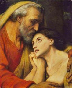 The Return of The Prodigal Son - Ary Scheffer paintings