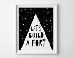 Illustration print, printable quote, Mini Learners, black and white print, downloadable print playroom printable kids room decor nursery art