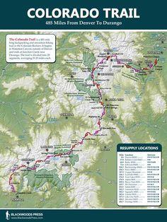 John Muir Trail Map  John Muir Trail  Pinterest  Trail maps