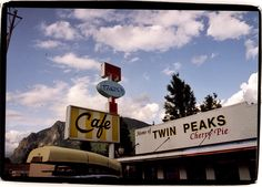 Twin Peaks Cafe, North Bend, WA. We had pie and coffee of course!