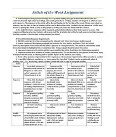 nonfiction guide assignment