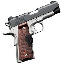 Kimber 1911 Pro Crimson Carry II - A lightweight pistol ideal for all-day-every-day carry plus the real-world advantage of Crimson Trace Lasergrips.