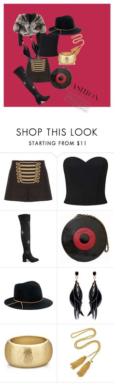 """Untitled #62"" by linamaza85 ❤ liked on Polyvore featuring RED Valentino, Miss Selfridge, Daisy Street, Chanel, Eugenia Kim, Oscar de la Renta, Kenneth Jay Lane, Lolita Lempicka, Spring and WhatToWear"