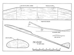 Outerzone : Searchable database of free model aircraft plans Rc Plane Plans, Rc Glider, Airplane Crafts, Animal Stencil, Wood Plane, Aircraft Design, Model Airplanes, Art Model, Gliders