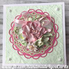 Handmade#cards#scrapbook#foamiran#flowers#DIY