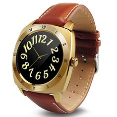 Lucoo Fashion DM88 Waterproof Bluetooth Smart Watch Heart Rate Monitor Watch For iPhone 6S Gold ** Read more at the image link. (This is an affiliate link) #SmartWatches