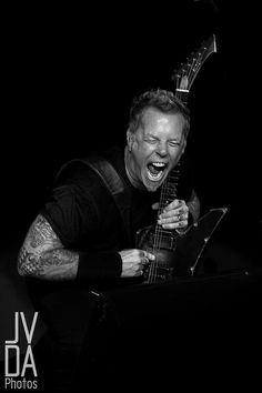 James hetfield from metallica <3 Him