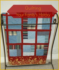 If you have a quilt in your family's history, don't wait to discover the story behind it! I'm from a long line of quilters...