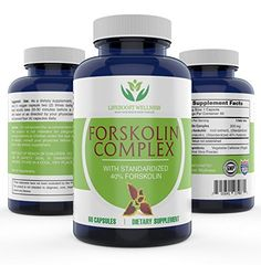 Pure Forskolin Extract with Standardized 40% Forksolin for Weight Loss by Lifeboost Wellness   High Potency Fat Burner   Boosts Metabolism   GMP Certified   Made in the USA   60 Capsules