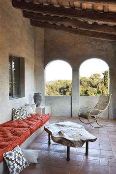Cushions and furnishings...