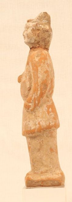 Tang Dynasty Red Terracotta Tomb offering Figure