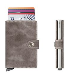 Time to ditch the bulky, tired old wallet and upgrade to this little beauty! SECRID Miniwallet Vintage Concrete