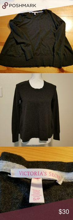 VS Sweater Super comfy sweater, extra wide, like new condition. Victoria's Secret Sweaters Crew & Scoop Necks