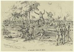 Pickett's Charge, July 3, 1863 : scene at the grove of trees. (1863)