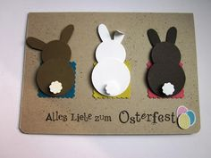 stampin with fanny: Osterkarte mit Punch Art