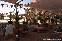 Terraza chic summer las Rozas Village #Madrid