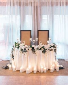 arch backdrop head tables Ideas -Wedding arch backdrop head tables Ideas - Quick & Easy Backdrop Floating Chiffon Table Skirt with extra length Long Chiffon Diy Wedding Bouquet, Floral Wedding, Trendy Wedding, Wedding Flowers, Elegant Wedding, Reception Decorations, Wedding Centerpieces, Reception Seating, Table Seating