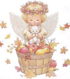 anjos para decoupage - Pesquisa Google