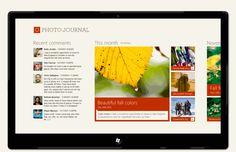 Design case study: iPad to Windows 8 Metro style app Interface Design, User Interface, Design Case, App Design, Metro Style, Design Language, Photo Journal, Web Design Inspiration, Windows 8