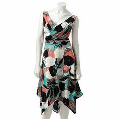 Suite 7 Floral Ruched Dress