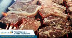 Aprovecha hoy viernes y  este fin de semana para  degustar una buena parrillada de carne  de chato Murciano, de nuestra propia granja, por lo que garantizamos la calidad de estas carne al 100%  ¡ te sorprenderá  por sabor y textura  ! ¡ Te esperamos ! Reservas 968383077