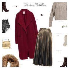"""Winter Metallics"" by amberelb ❤ liked on Polyvore featuring Marni, Zara, Isabel Marant, Topshop, Marc Jacobs, Chloé, Retrò, LE VIAN and I.D. SARRIERI"