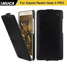 Xiaomi Redmi Note 3 Pro Case Cover iMUCA Flip Leather Case Capa for Xiaomi Redmi Note 3 Pro Prime Coque Phone Cases Shell