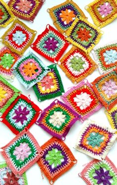 crochet squares, Blog Happy Forms